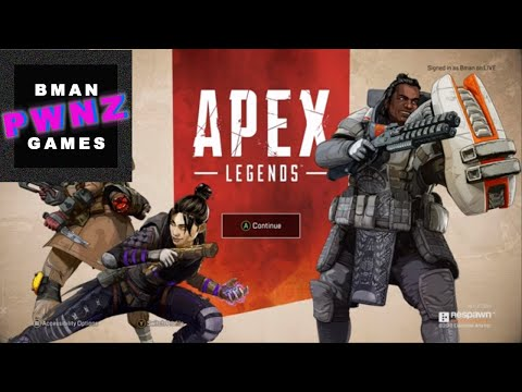Apex Legends Part 1 - First Game, Tutorial, A Couple of Matches, and Bman Gets A Kill | Bman Pwnz thumbnail