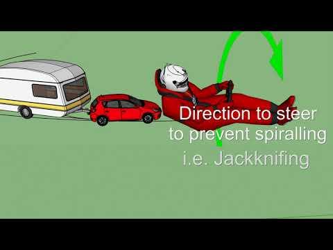 How to reverse a Caravan or Trailer, Caravan Tips and Tricks