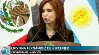 """""""Con México compartimos un mismo destino histórico"""", señaló Cristina"""