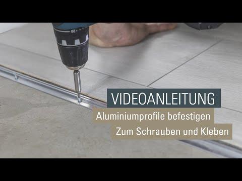 montage-wineo-aluminiumprofile-Übergangsprofil-und-anpassungsprofil