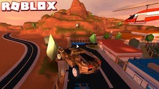 FLYING NEW BUGATTI INTO THE PRISON! (Roblox Jailbreak)