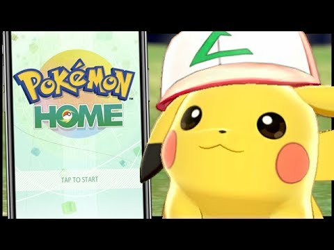 Pokmon Home is out now on the Switch, iPhone, and Android