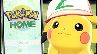 How To Get And Use Pokemon Home on Nintendo Switch, iPhone and Android