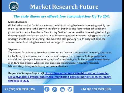 Global Advance Anesthesia Monitoring Devices Market Research, Growth, Analysis to 2027