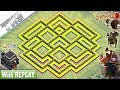 NEW BEST TH9 Base 2019 With REPLAY   Anti 3/2 Star TH9 Base - Clash Of Clans