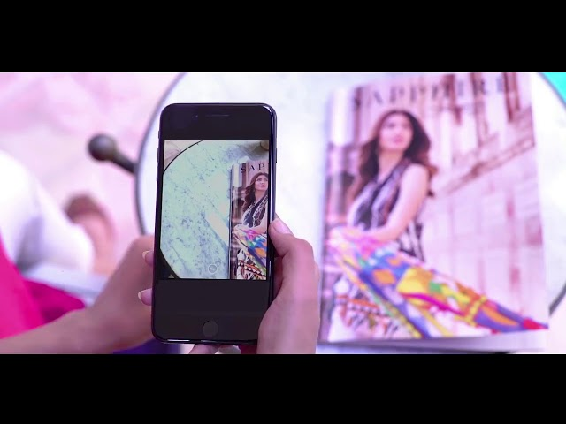 Pakistan First Ever Augmented Reality Fashion Catalogue By Cresset Technologies