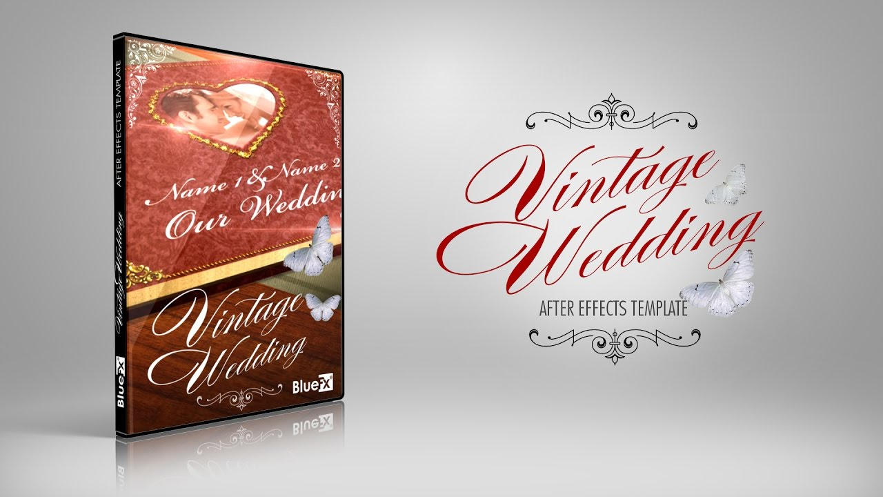 Vintage Wedding - After Effects Template (BlueFX) » free