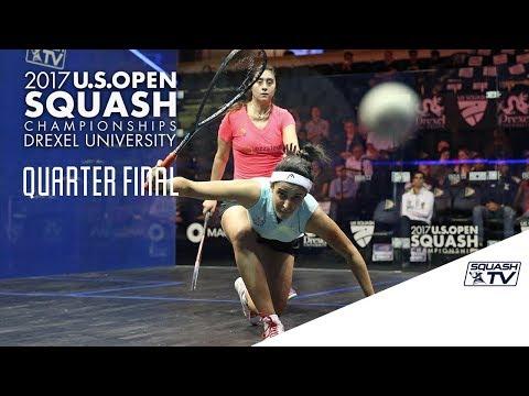 Squash: Women's QF Roundup Pt. 1 - U.S. Open 2017