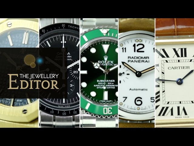 Top 5 iconic watches for men: Rolex, Cartier, Omega, Audemars Piguet, Panerai