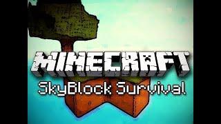 Minecraft Skyblock [#5] Las Iglasty Czy Liściasty? Oraz Farma Krówek