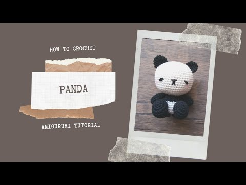 Ravelry.com: Felted Penny the Panda pattern by Lion Brand Yarn ... | 360x480