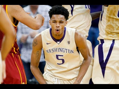 Dejounte Murray - Washington Highlights 2016