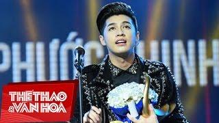 Noo Phước Thịnh nhận giải Ca Sĩ Của Năm 2017 | Giải Âm Nhạc Cống Hiến lần thứ 12 - 2017