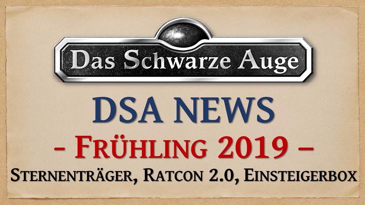 DSA News Frühling 2019 - Neue Abenteuer, RatCon 2.0 und Bilder zu Sternenträger