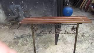 декоративная скамейка для дома дачи и кладбище своими руками