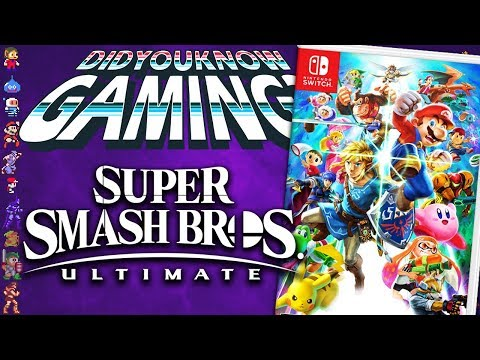 Super Smash Bros Ultimate - Did You Know Gaming? Feat. Scott The Woz thumbnail