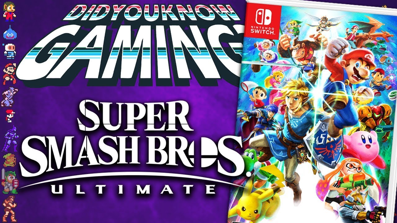 Super Smash Bros Ultimate - Did You Know Gaming? Feat. Scott The Woz