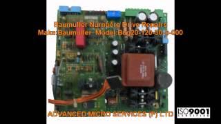baumuller nurnberg bug20 120 30 b 000 drive repairs advanced micro services pvt ltd