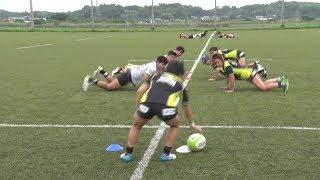 女子ラグビー15人制 日本代表合宿 2019