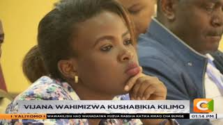 Vijana wahimizwa kushabikia kilimo Kisumu