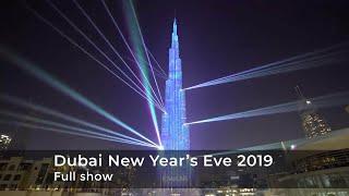 Dubai New Year's Eve 2019   Full Version