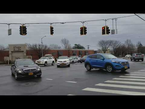 LIKE YOU'VE NEVER SEEN IT - INTERSECTION ROUTE 110 & JERICHO TURNPIKE HUNTINGTON STATION NEW YORK