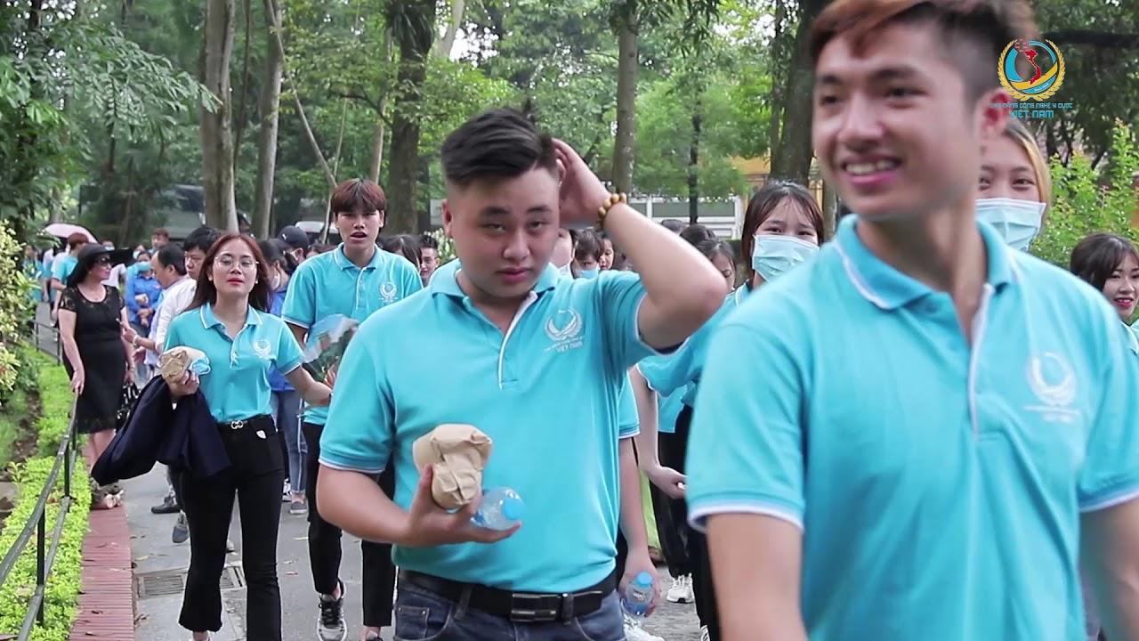   Trường Cao đẳng Công nghệ Y – Dược Việt Nam thăm lăng bác nhân dịp kỷ niệm ngày sinh nhật Bác