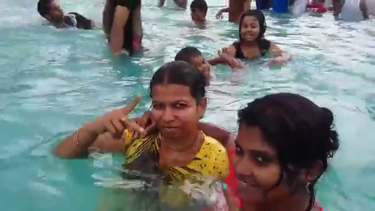 Lds Deaf Hearing And Deaf Friends Wonderla Water Pools Bangalore Isl Youtube