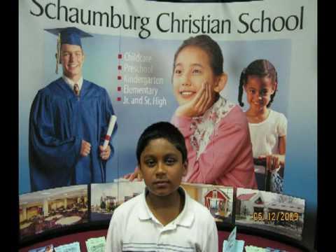 Shyam's 2nd Grade Piano Recital - Dec 08 - May 09 (Schaumburg Christian School)