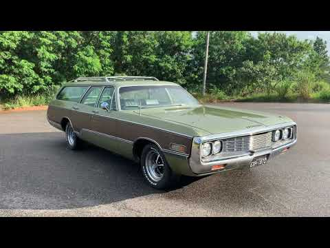 Chrysler Town & Country 1970 Agora Quase Pronta Mesmo !