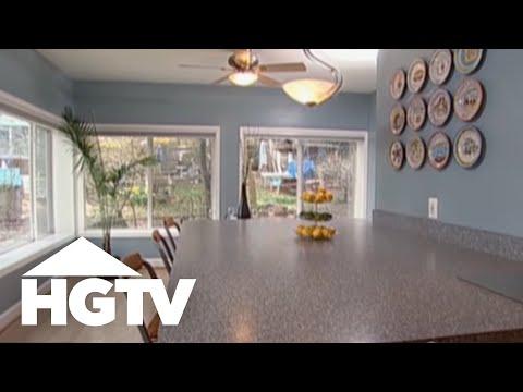 home staging tips how to make a room look bigger hgtv video youtube. Black Bedroom Furniture Sets. Home Design Ideas