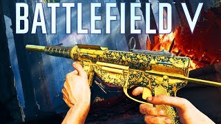 INSANE M3 Grease Gun GOLD Battlefield 5 Medic Gameplay