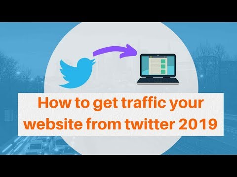 How to get traffic your website from twitter 2019 | Digital Marketing Tutorial thumbnail