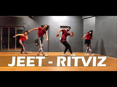 Jeet - Ritviz | Dance Animation Choreography | CurlyGrooves