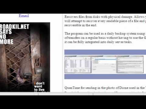 Easy Backup files on failing harddrive (window 8)