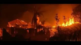 California wildfires 2018: It really does burn, California fires cause bizarre outbreak of rashes?
