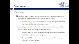 ICD 10: Coding and Medical Documentation Changes for Pediatrics