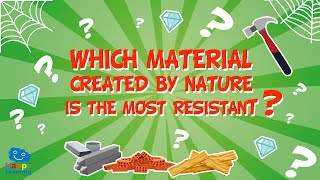 💭 Which material created by nature is the most resistant? 🕷️🕸️ | Educational Videos For Kids