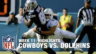 Cowboys vs. Dolphins | Week 11 Highlights | NFL