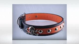 Leather Dog Collars - Large Limited Edition 2012 Argos Handcrafted