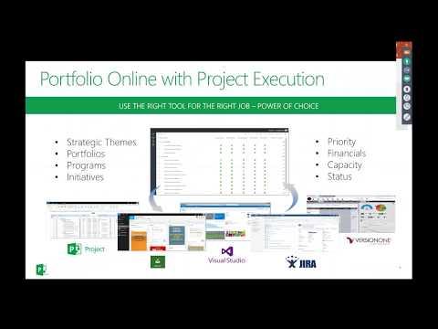 Enterprise Program and Portfolio Management in Project Online