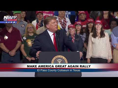 FULL MAGA RALLY: President Donald Trump in El Paso, Texas (FNN)
