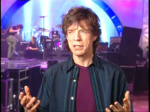 Mick Jagger Talks Goddess In the Doorway Party