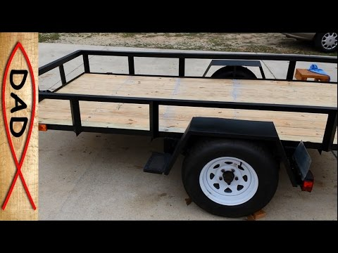5X10 Utility Trailer Build - Part 4 of 4