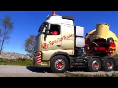 Heavy Equipment Accidents #RC biggest oversize load truck goldhofer heavy transport moving transform