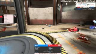 Team Fortress 2: cp_badlands Royal vs Crack Clan Blue (Pov stuntz)