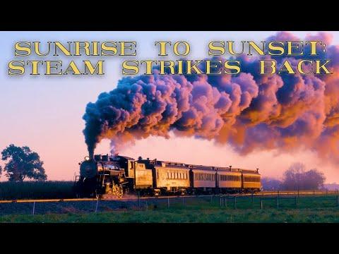 "Strasburg Railroad Sunrise to Sunset: ""Steam Strikes Back"" morning photo charter 2020"