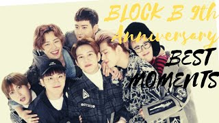 BLOCK B Being Extra For 9 Minutes    Happy 9th Swagiversary …
