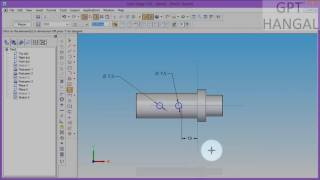 socket and spigot cotter joint (part modelling and assembly in solid edge)