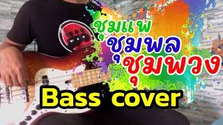 ชุมแพ ชุมพล ชุมพวง ลูกแพร ไหมไทย [ BASS COVER ]